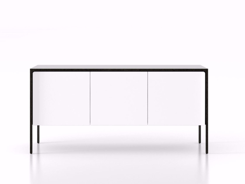 Wooden sideboard with doors TAC210   Sideboard with doors by Punt