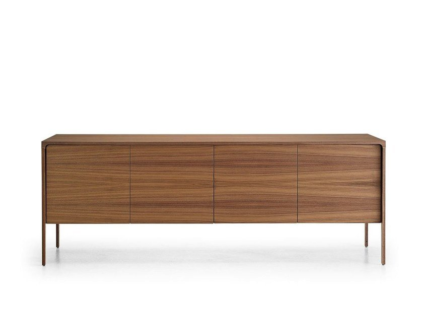 Walnut sideboard with doors TAC215 | Sideboard with doors by Punt
