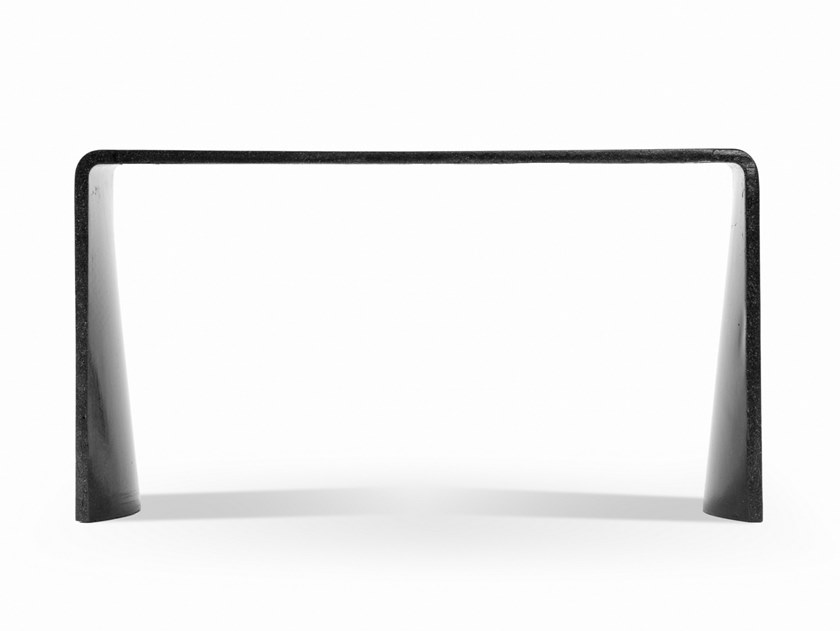 Rectangular cement console table TADAO | Console table by Forma&Cemento