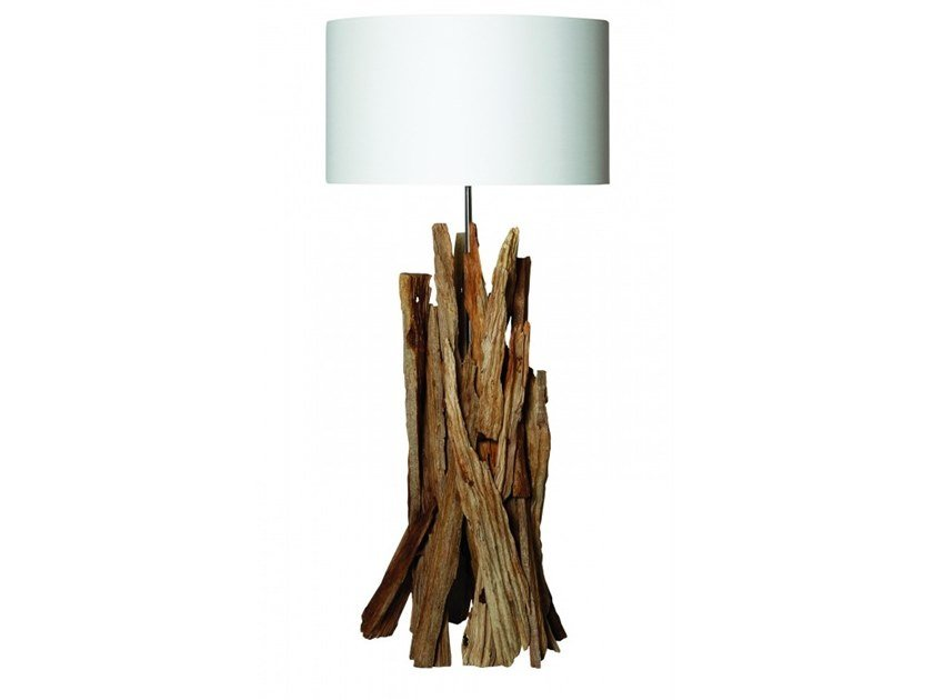 Wooden table lamp TAIGA | Table lamp by Flam & Luce