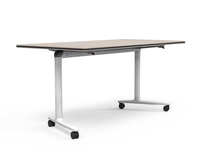 Folding meeting table with casters TALENT | Meeting table with casters by ACTIU