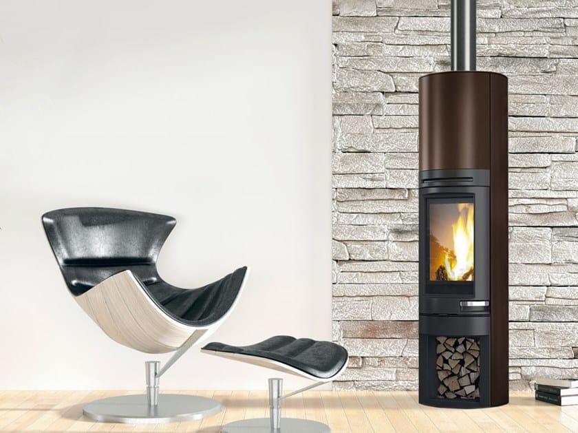 Wood-burning steel stove TALLY 8 S | Steel stove by EDILKAMIN