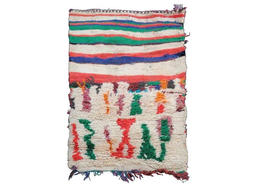 Motif rectangular wool cushion TALSENT TAA109BE by AFOLKI