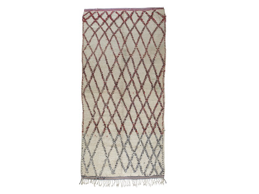 Rectangular wool rug with geometric shapes TALSENT TAA1172BE by AFOLKI