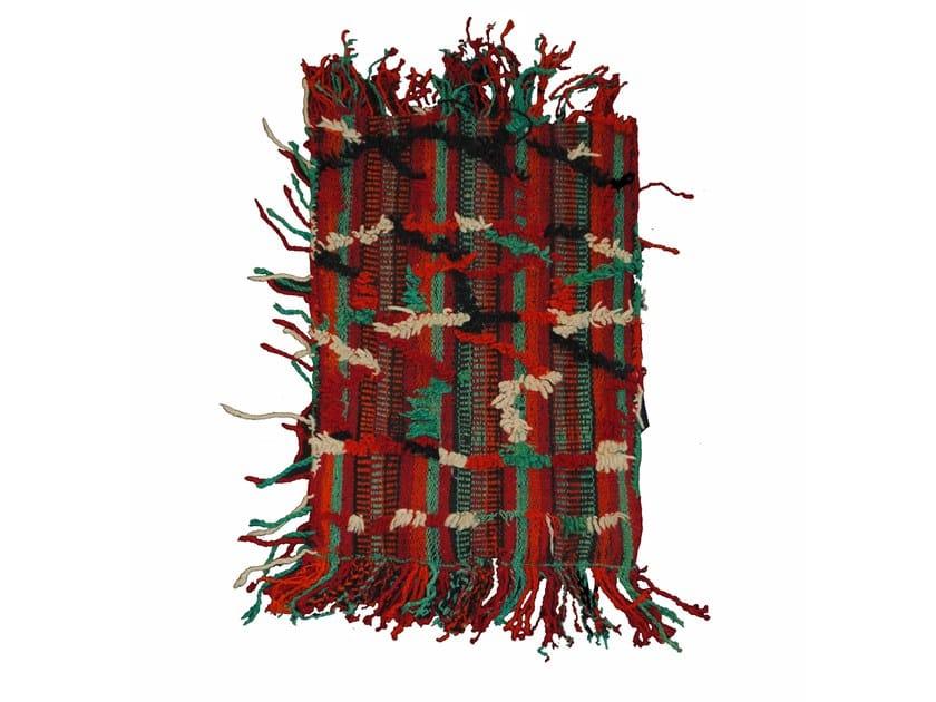 Motif rectangular wool cushion TALSENT TAA473BE by AFOLKI