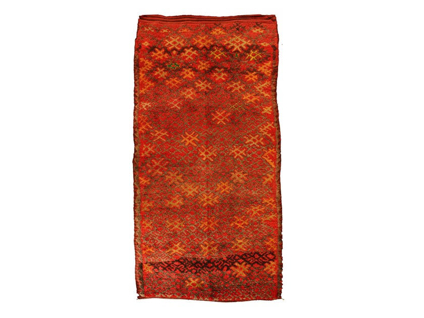 Contemporary style patterned rectangular wool rug TALSENT TAA626BE by AFOLKI