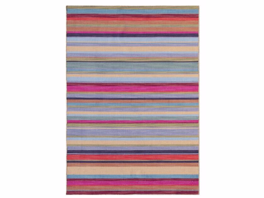 Striped wool rug PURA VIDA DR-04 by Jaipur Rugs