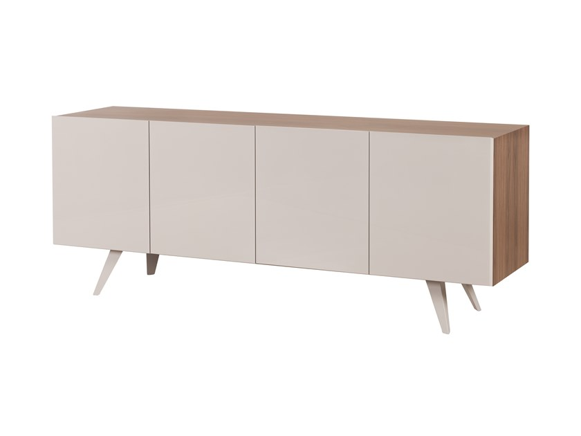 Lacquered sideboard with doors TÂMISA by Green Apple