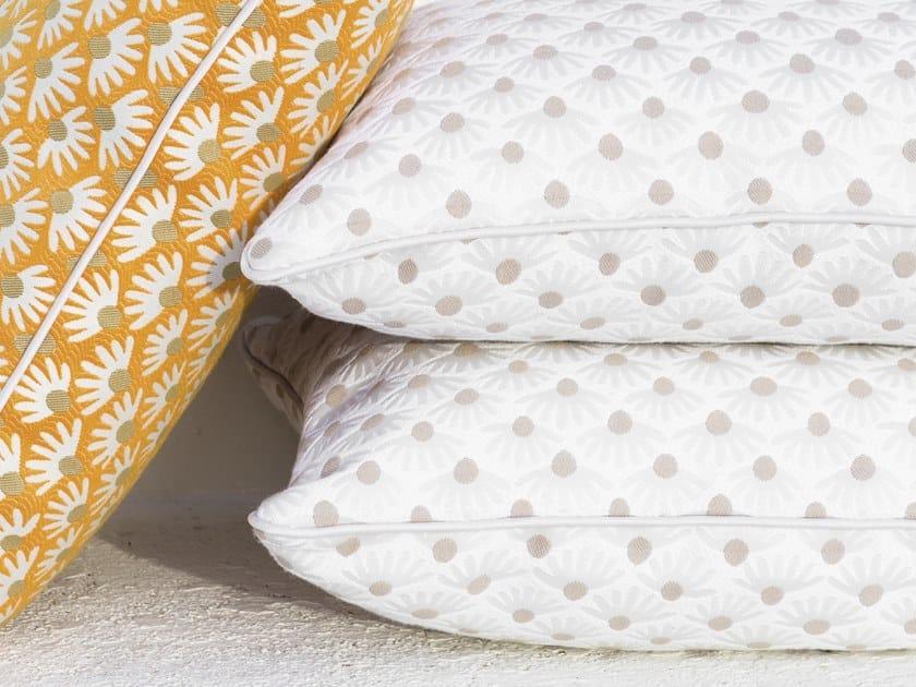 Jacquard fabric with graphic pattern TANDEM - CÉLESTE by Élitis