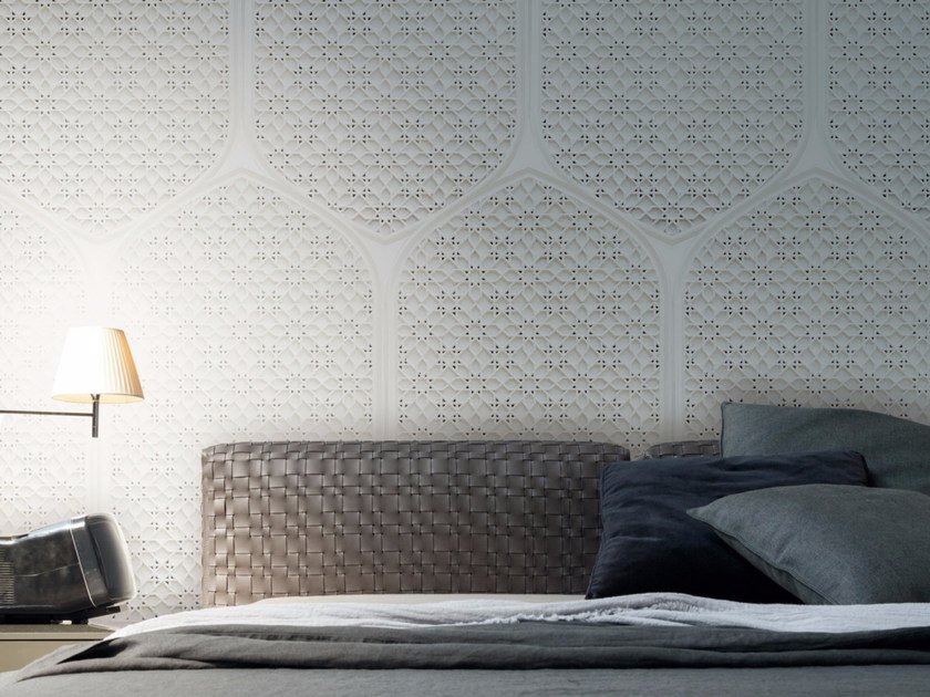 Motif panoramic wallpaper TANGLE by Inkiostro Bianco
