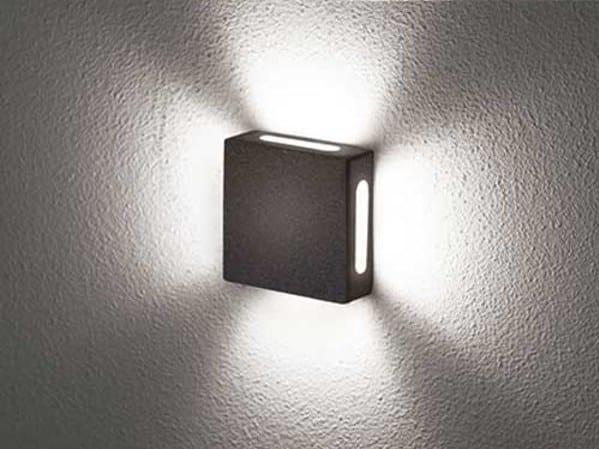 Aluminium wall lamp / ceiling lamp Tango K-X (interior) by BEL-LIGHTING