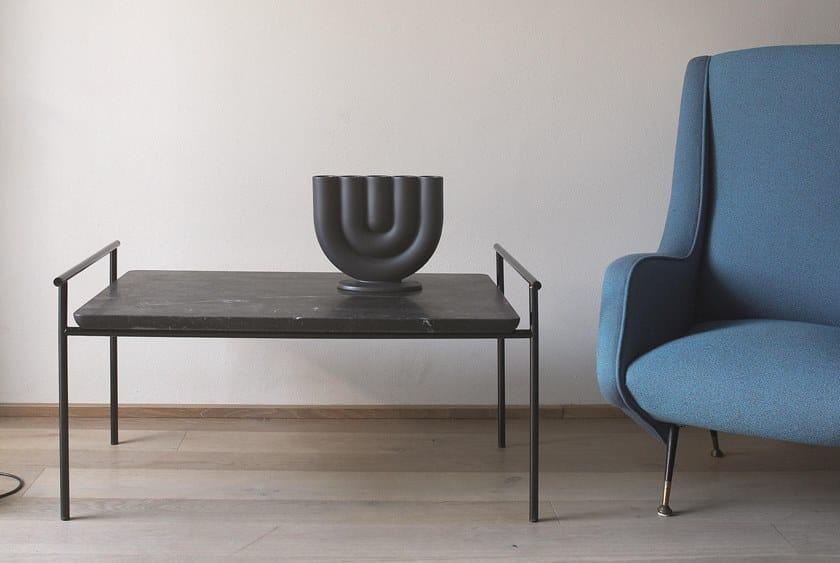 Rectangular marble coffee table TAO by Atipico