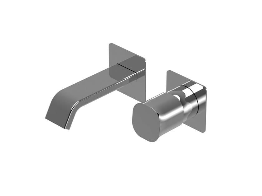 Miscelatore per lavabo a 2 fori a muro monocomando TAORMINA   Miscelatore per lavabo a 2 fori by RITMONIO