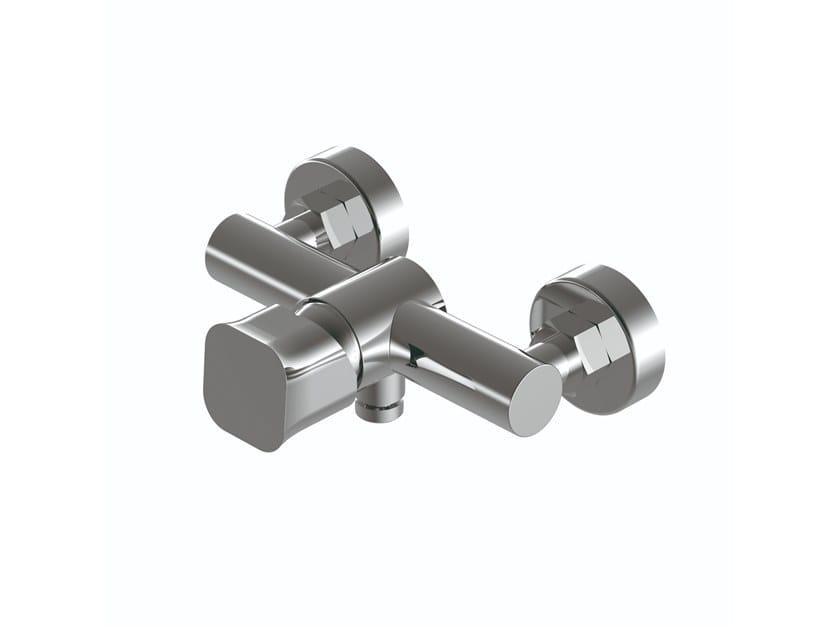 2 hole external single handle brass shower mixer TAORMINA   External shower tap by RITMONIO
