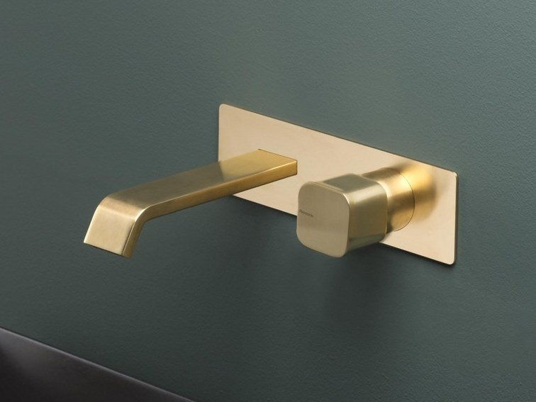 Wall-mounted washbasin mixer TAORMINA | Wall-mounted washbasin mixer by RITMONIO