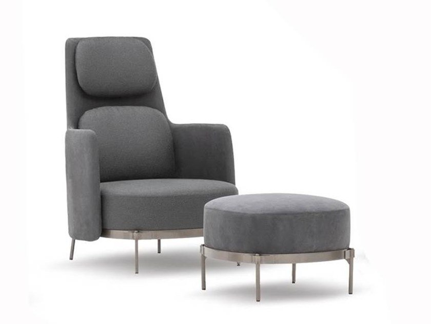 Bergere armchair TAPE | Bergere armchair by Minotti