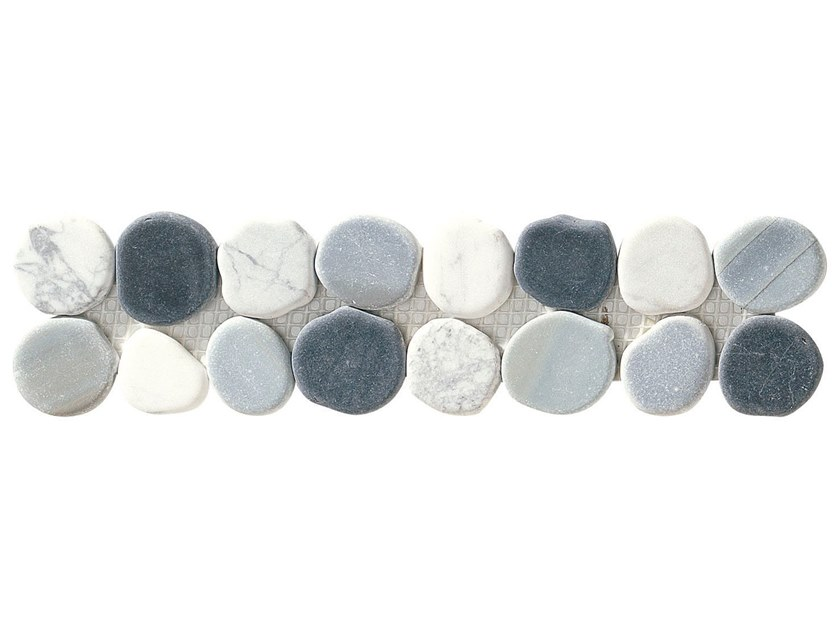 Marble mosaic TARO by BOXER