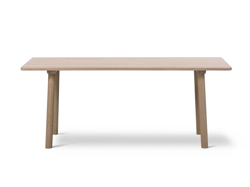 Rectangular oak table TARO by FREDERICIA FURNITURE