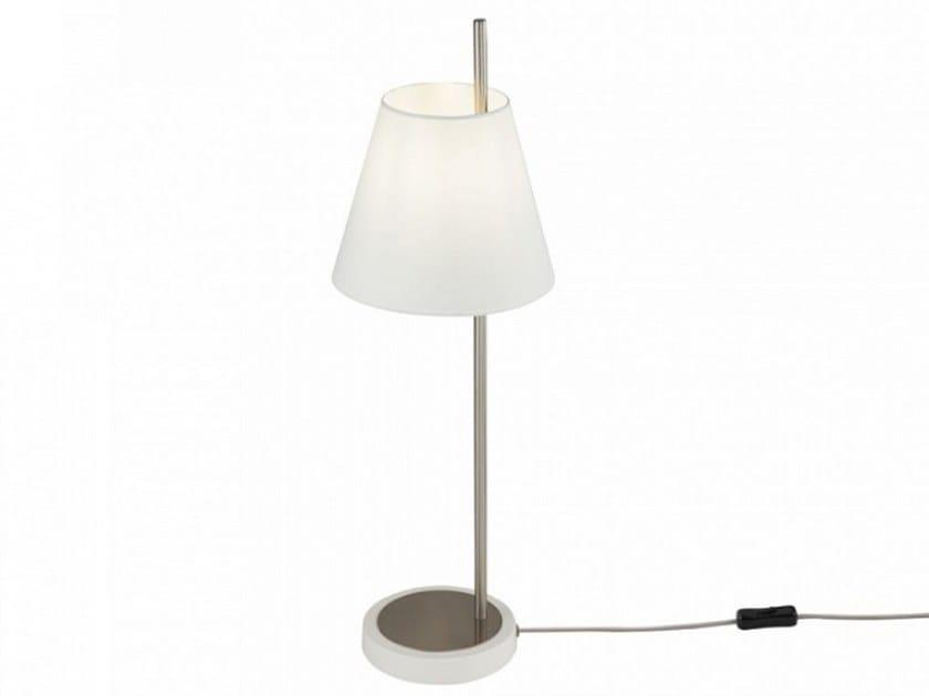 Indirect light metal table lamp TARRASA | Table lamp by MAYTONI
