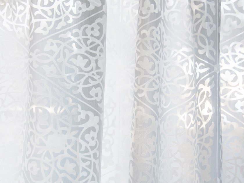 Polyester fabric for curtains TARTARA by Equipo DRT