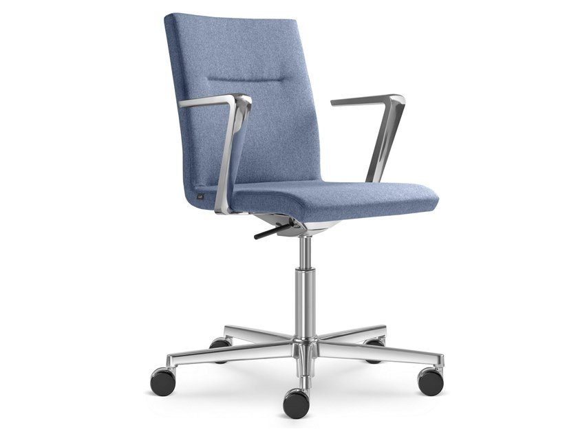 Task chair with 5-Spoke base with casters SEANCE CARE | Task chair by LD Seating