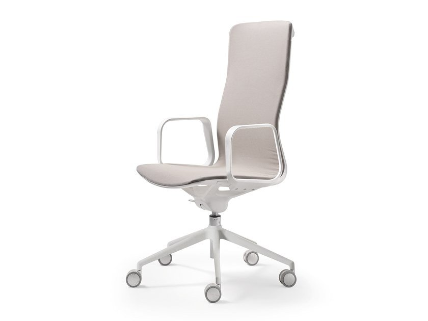 Swivel task chair with 5-Spoke base LESS | Task chair by Quinti Sedute