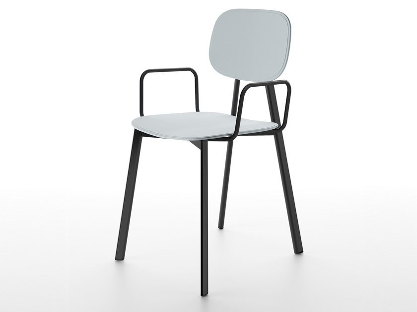 Technopolymer chair with armrests TATA | Chair with armrests by Pointhouse