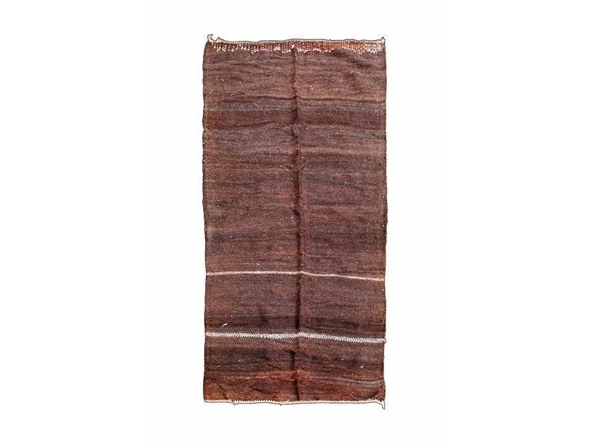 Rectangular wool rug TATA TAA200BE by AFOLKI