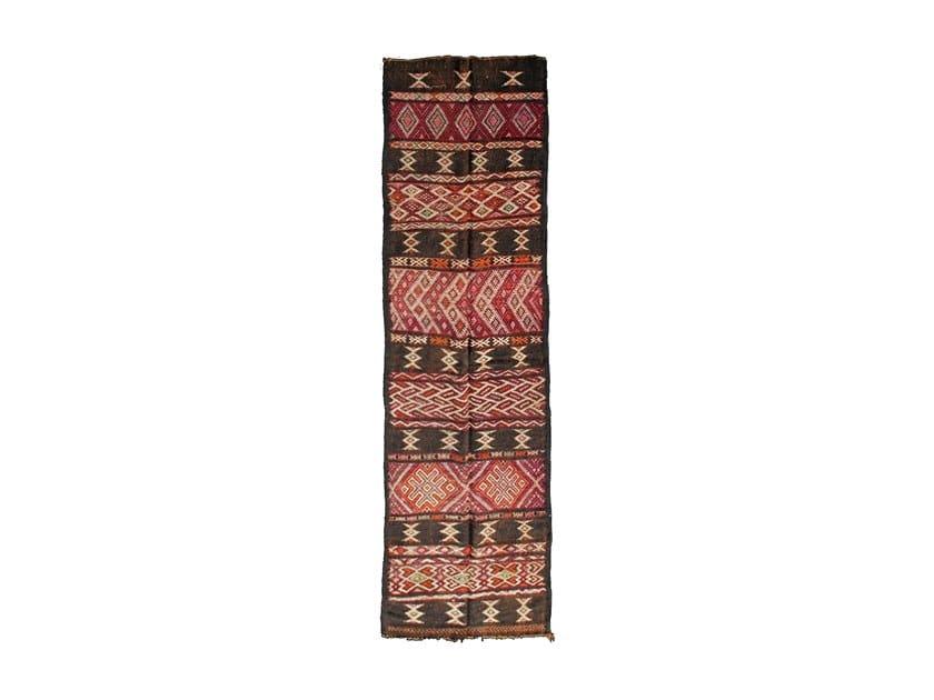 Rectangular wool rug with geometric shapes TATA TAA234BE by AFOLKI