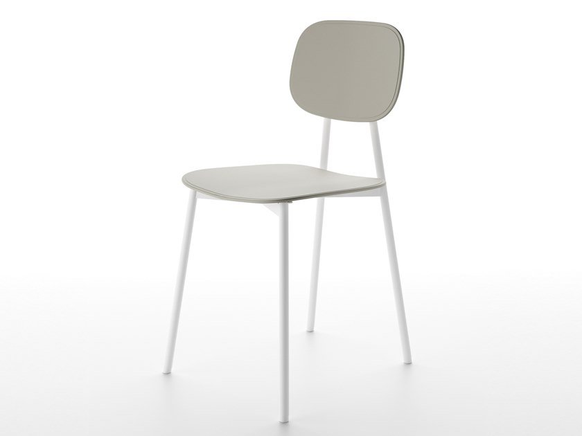 Open back technopolymer chair TATA YOUNG by Pointhouse