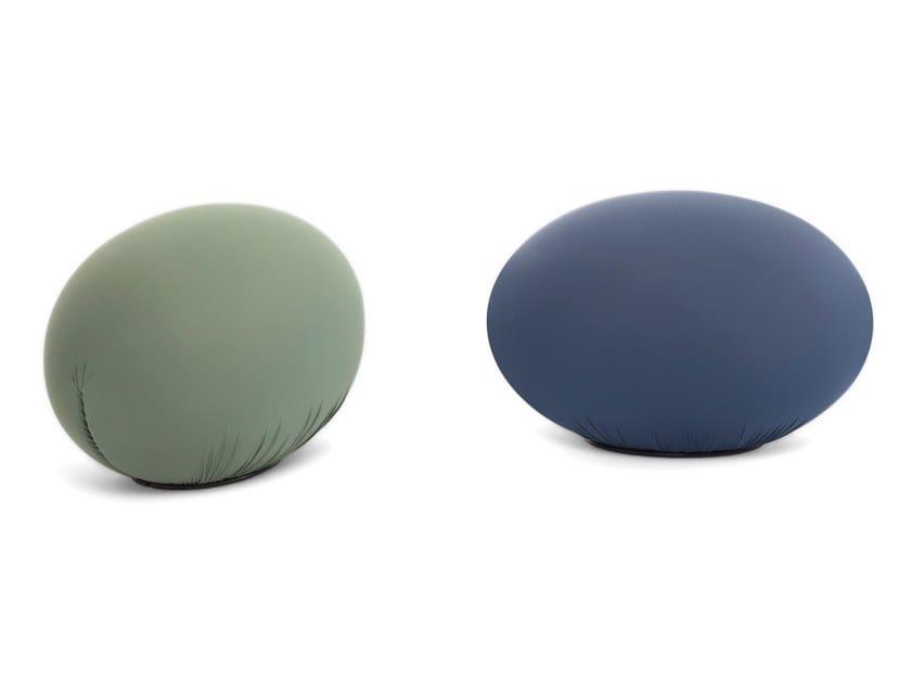 Fabric pouf / footstool TATO by BALERI ITALIA