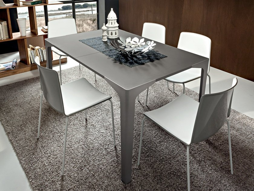 Extending Fenix-NTM® dining table TAURUS | Extending table by IDEAS Group