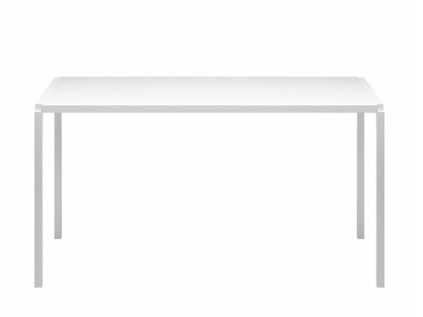 Rectangular acrylic stone table TAVOLO ZERO CABLE - Z05 by Alias