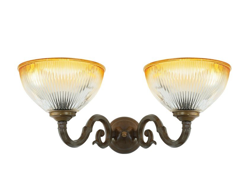 Indirect light handmade wall lamp TAWAU by Mullan Lighting