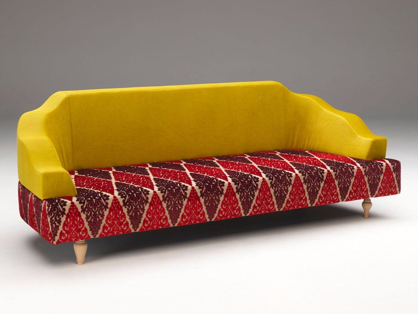 Fabric sofa GENTILE by Paolo Castelli