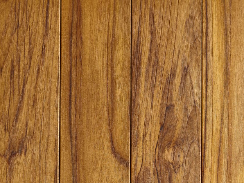 Prefinished teak parquet SOLID TEAK | OILED PAINTED by DELBASSO Parquet