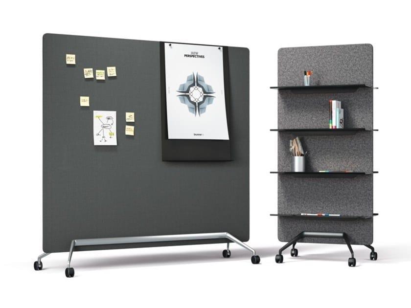 Workstation screen / office whiteboard TEAM | Office whiteboard by Brunner