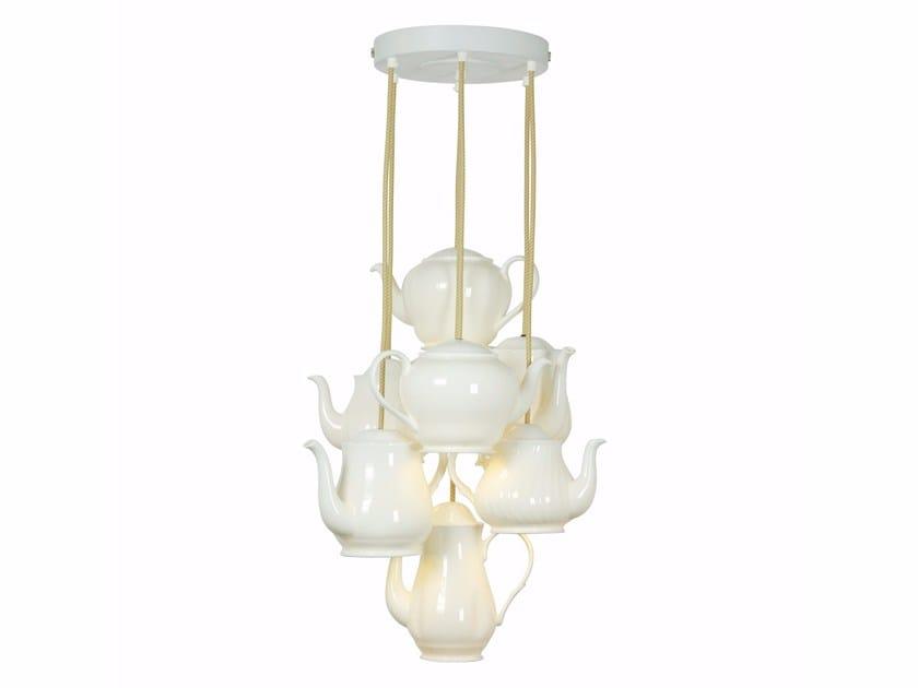 Porcelain pendant lamp TEAPOT   Pendant lamp by Original BTC