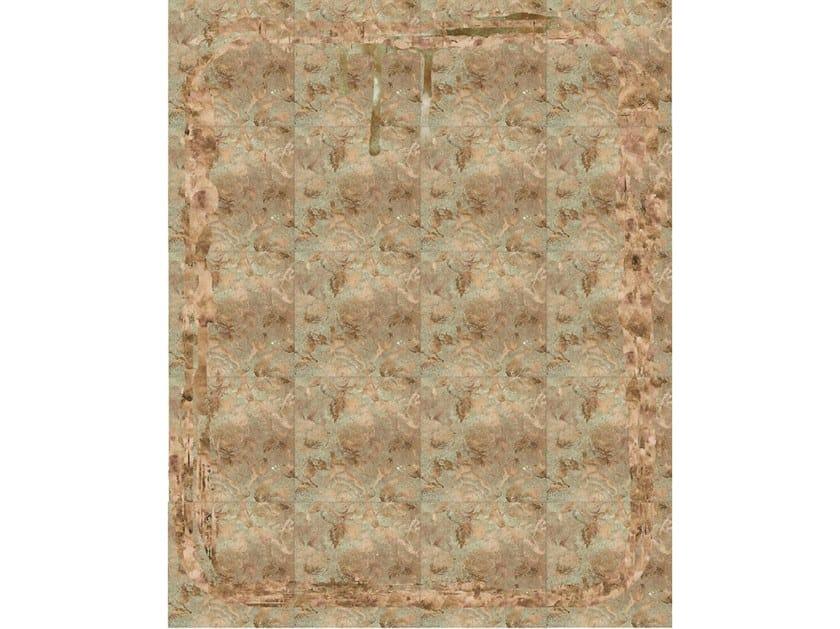 Leather rug TEARS AND ROSES by Miyabi casa