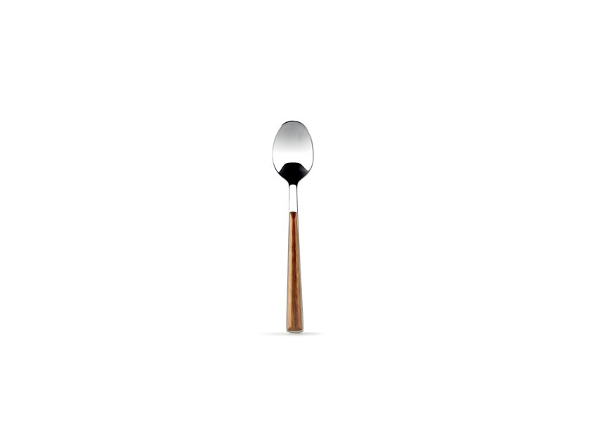 Stainless steel and wood teaspoon CHALET | Teaspoon by Fill