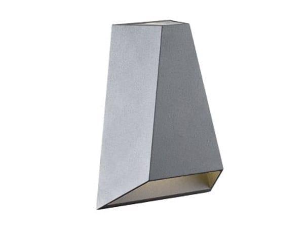 Applique per esterno a led a luce diretta e indiretta tech