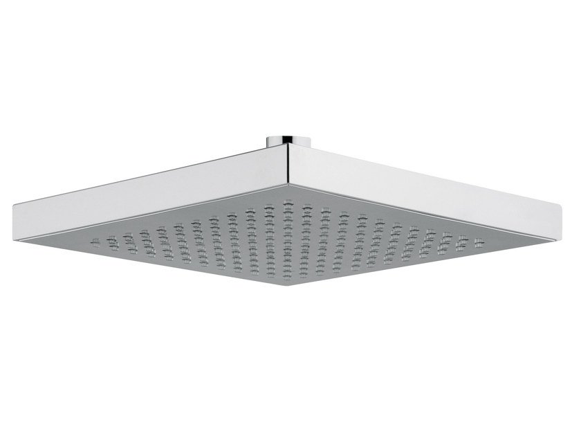 Ceiling mounted rain shower TECHNO | Stainless steel overhead shower by AQUAelite