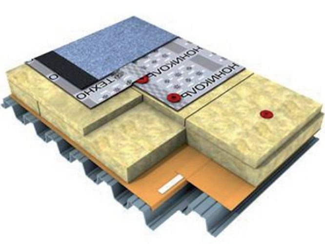 Rock wool Thermal insulation panel TECHNOROOF N 30 by Imper Italia