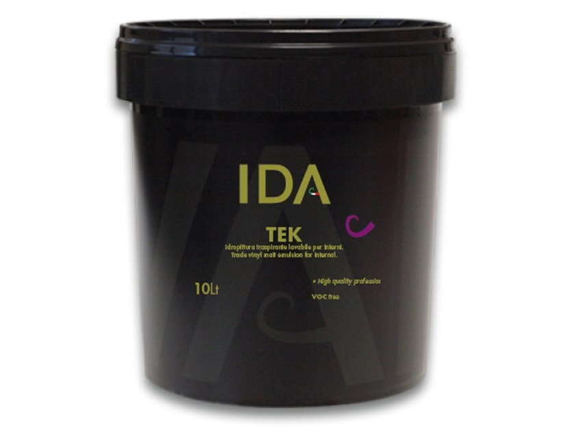Breathable water-based paint TEK by IDA