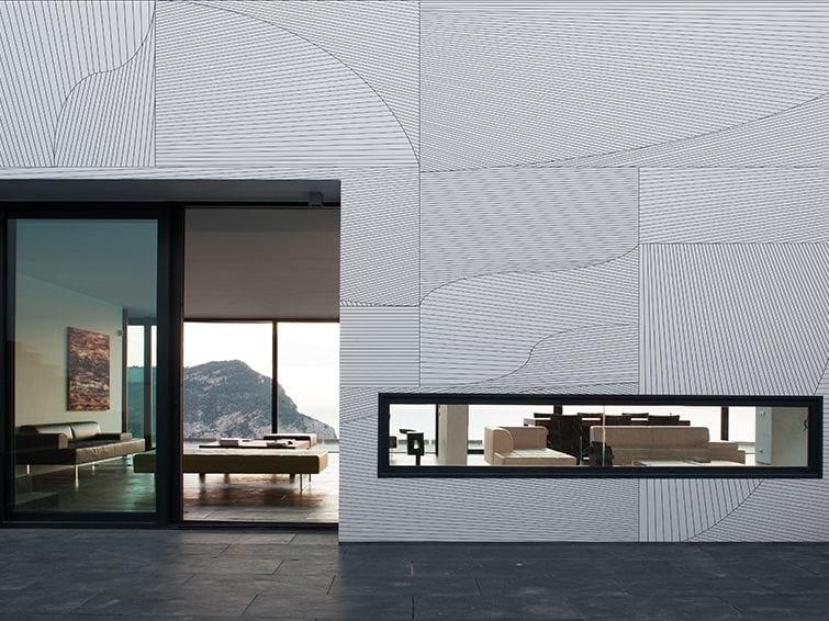 Motif geometric outdoor wallpaper TEKA-TEKI by Wall&decò