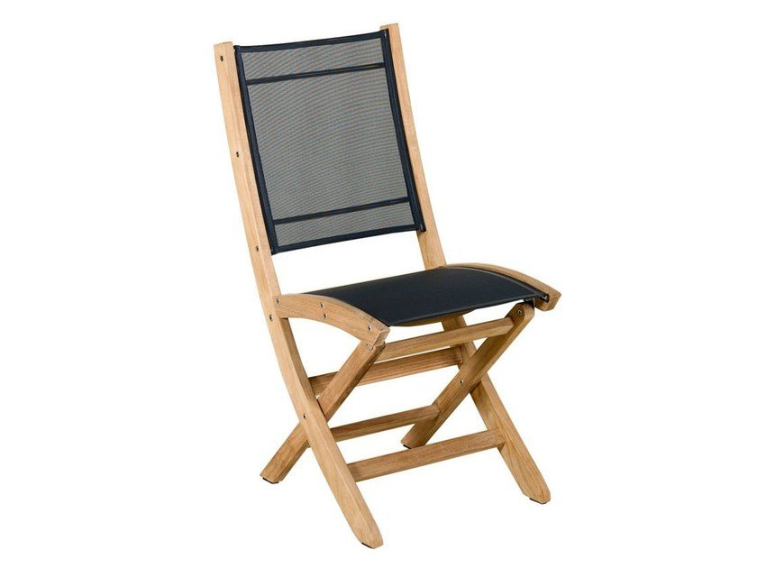 Folding Batyline® garden chair TEKURA | Chair by Les jardins - TEKURA Chair Tekura Collection By Les Jardins