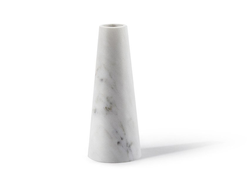 Marble candle holder TELLUS by Atipico