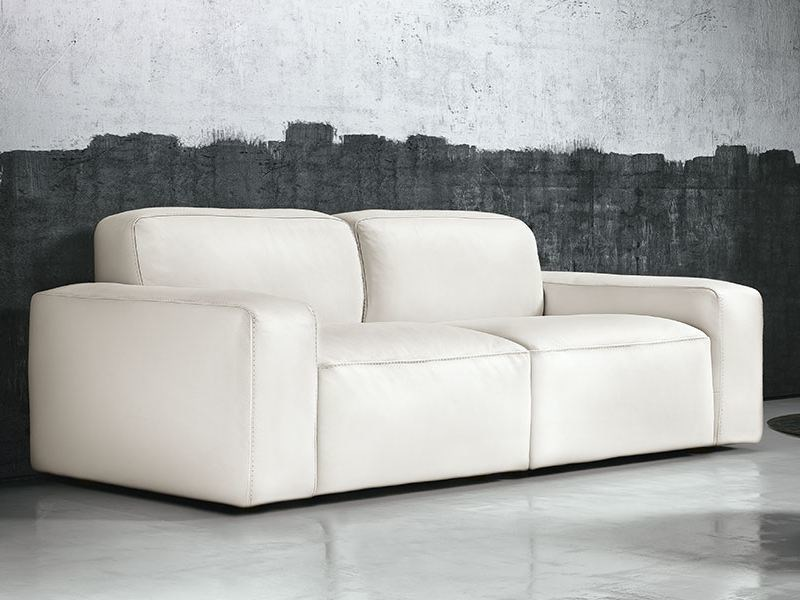 Leather Sofa TEMPO | Sofa By Franco Ferri Italia