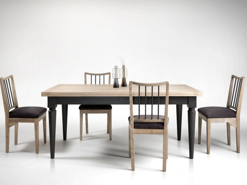 Rectangular Wooden Dining Table TEN By LOttocento - Dining table for ten