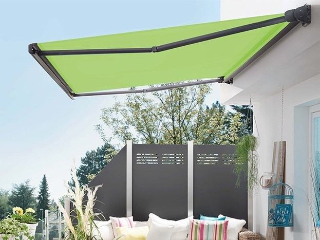 Box Folding arm awning PURABOX by STOBAG